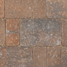 Country Manor Curb Stone - Flash Brown